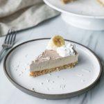Raw Banana Cream Pie
