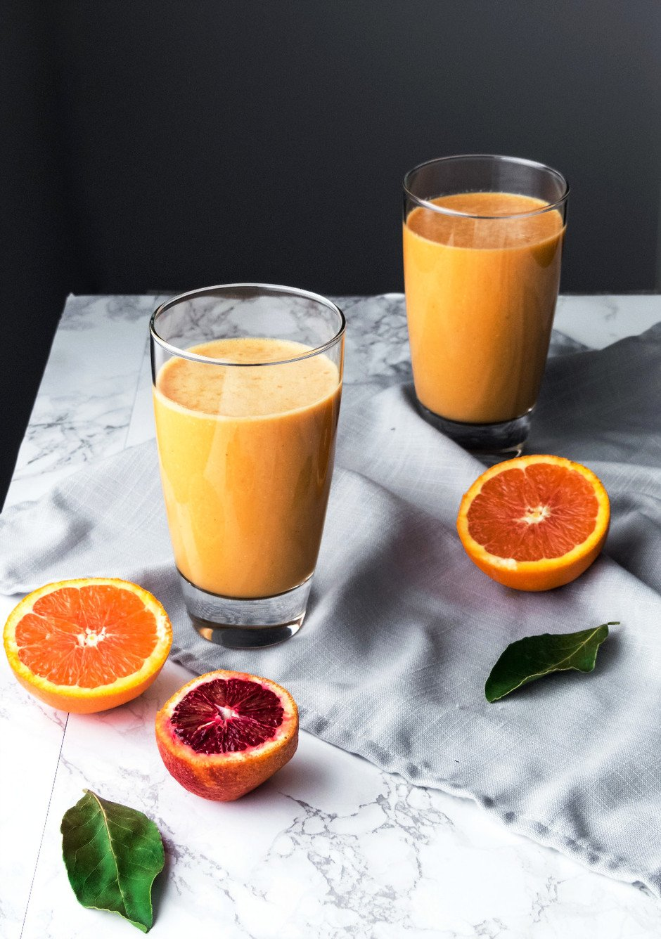 Citrus Root Smoothie - The Simple Green