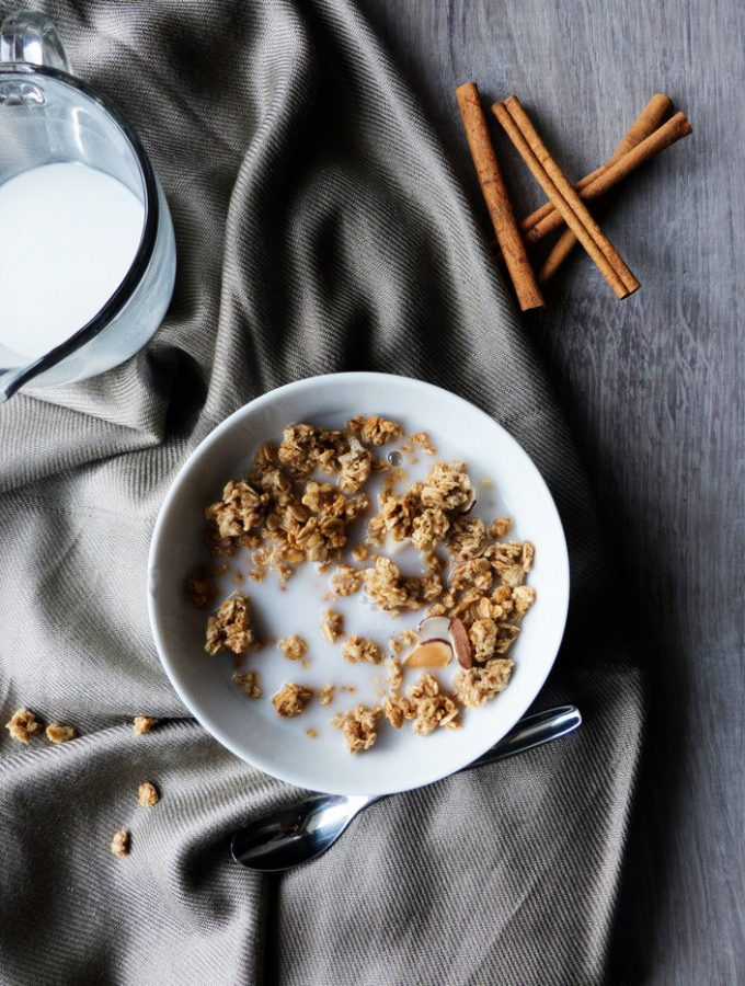 Winter Spice Almond Granola