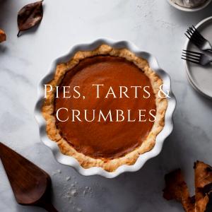 Pies, Tarts & Crumbles